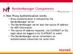bordermanager components8