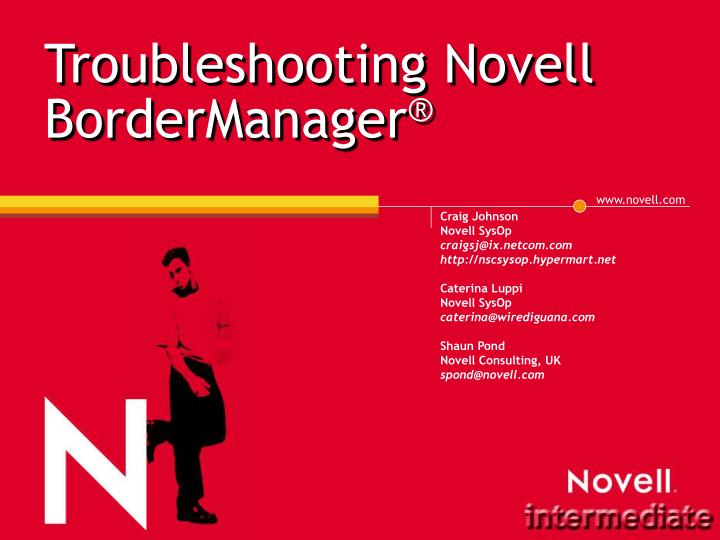 troubleshooting novell bordermanager n.