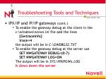 troubleshooting tools and techniques11