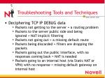 troubleshooting tools and techniques5