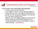 troubleshooting tools and techniques8