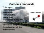 carbon s monoxide