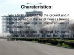 charateristics