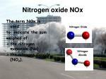 nitrogen oxide nox