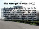 the nitrogen dioxide no 21