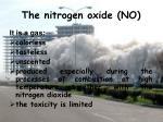 the nitrogen oxide no