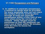 57 11050 escapeways and refuges1