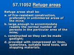 57 11052 refuge areas
