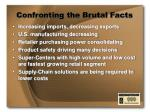 confronting the brutal facts1