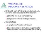 varenicline mechanism of action