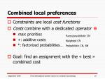 combined local preferences