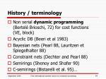 history terminology