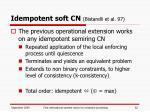 idempotent soft cn bistarelli et al 97