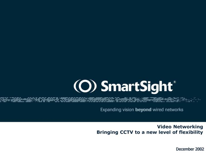 video networking bringing cctv to a new level of flexibility n.
