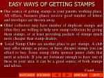 easy ways of getting stamps2