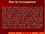 plan for arrangement1