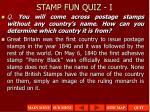 stamp fun quiz i1