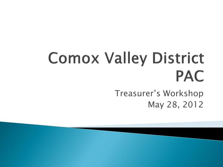 Comox valley district pac