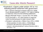 cases after atlantic research
