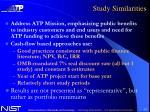 study similarities