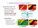 1 instantaneous dynamic models