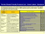 florida climate friendly products list green labels standards