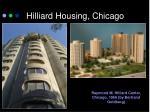hilliard housing chicago
