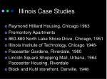 illinois case studies