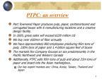 ptpc an overview