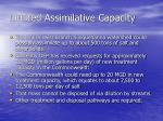 limited assimilative capacity2