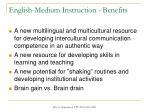 english medium instruction benefits