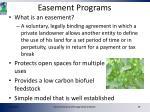 easement programs