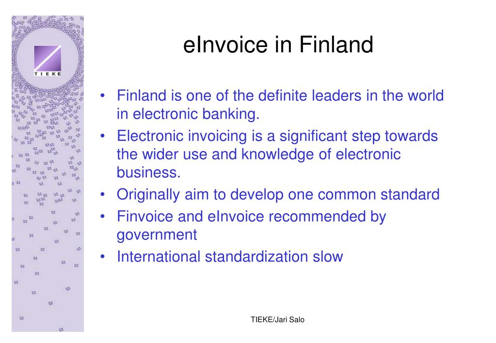 eInvoice in Finland