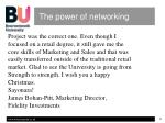 the power of networking4
