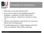 the power of networking5