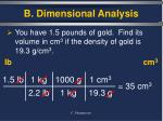 b dimensional analysis4