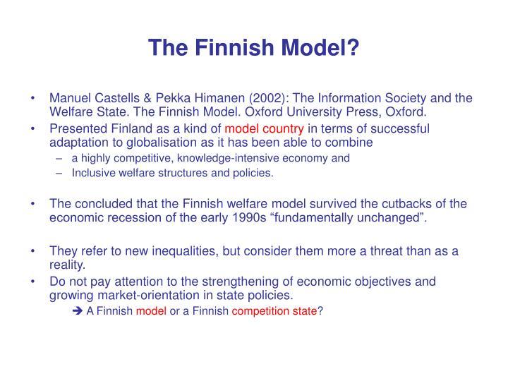 The finnish model