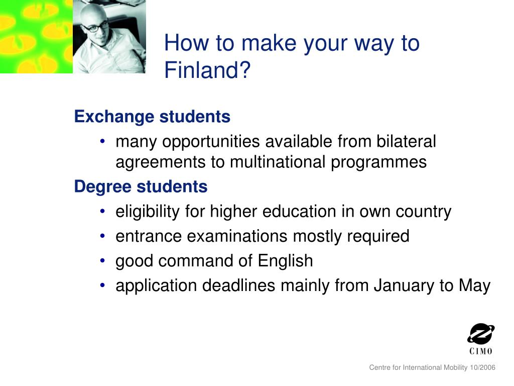 How to make your way to Finland?