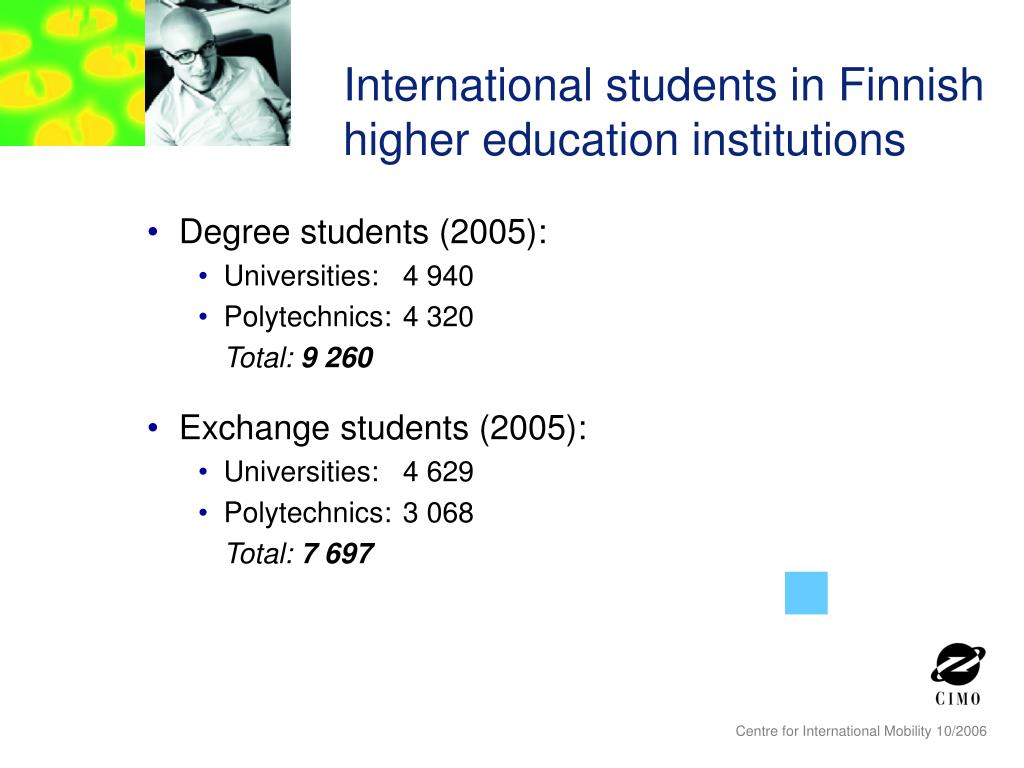 International students in Finnish higher education institutions
