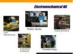 electromechanical na