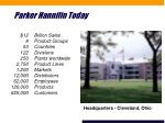 parker hannifin today