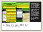 1 goodreader 0 99