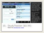 10 studytracker 0 99