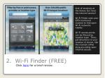 2 wi fi finder free