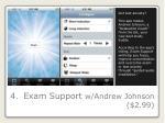 4 exam support w andrew johnson 2 99