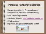 potential partners resources