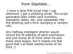 from slashdot