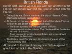 british florida