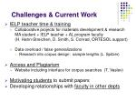 challenges current work