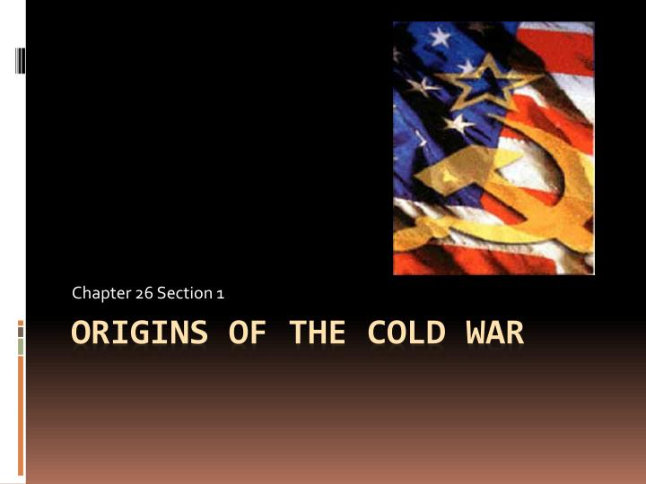 the schools of thought traces the origin of the cold war Why did the conflict emerge three different explanations for the emergence of the cold war it is part of the nature of history as a discipline that interpretations of the past are always being reassessed (or revised) not just because new facts emerge, but also because historians looking at the same events at different times and in different places.